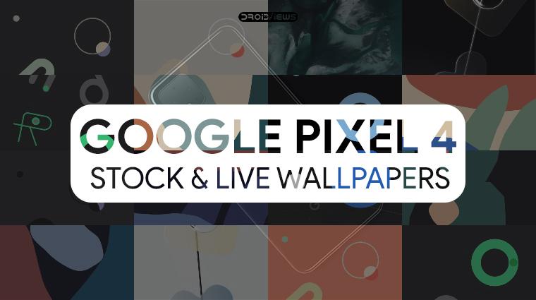 Pixel 4 stock wallpapers