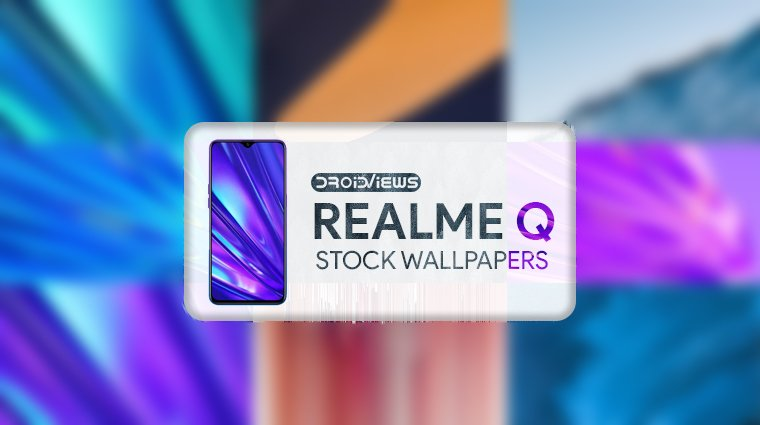 realme q stock wallpapers
