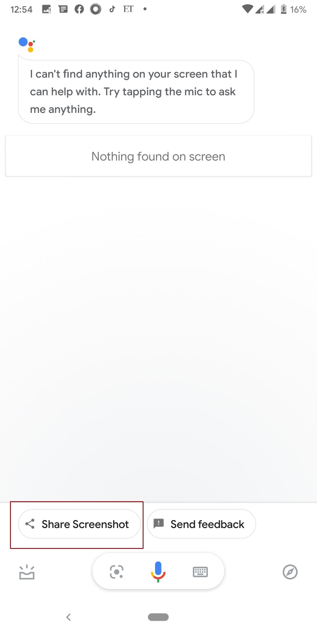 Share Restricted app Screenshots