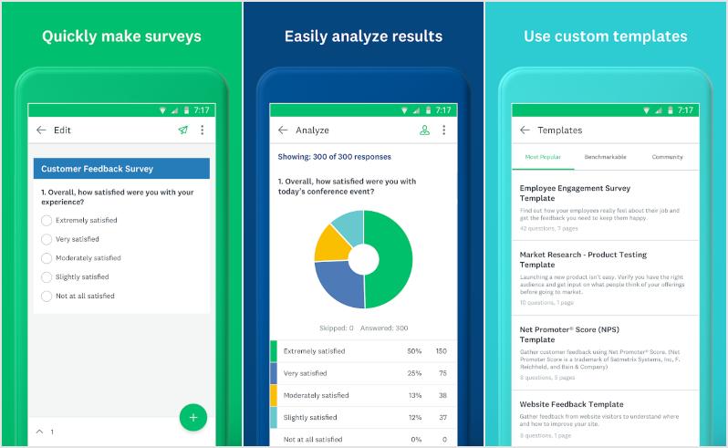 SurveyMonkey Forms App Android