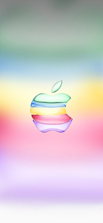 Apple Event 2019 wallpaper colorful