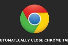 close chrome tabs