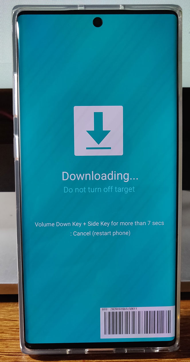 galaxy note 10 download mode