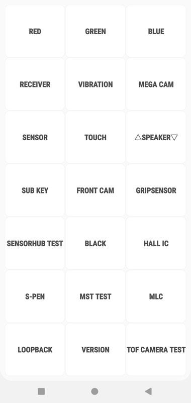 galaxy note 10 service menu