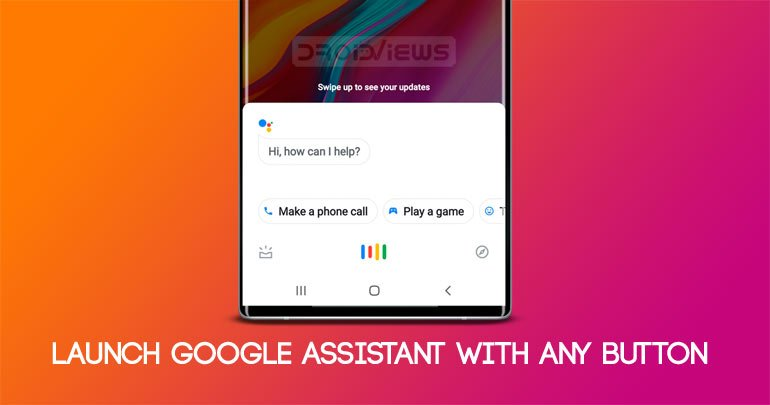 google assistant button mapper