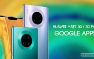 huawei mate 30 google apps