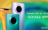huawei mate 30 google apps