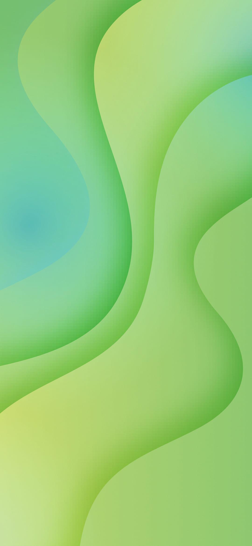 miui 11 green wallpaper