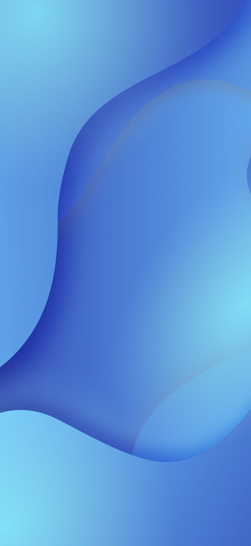 miui 11 blue wallpaper