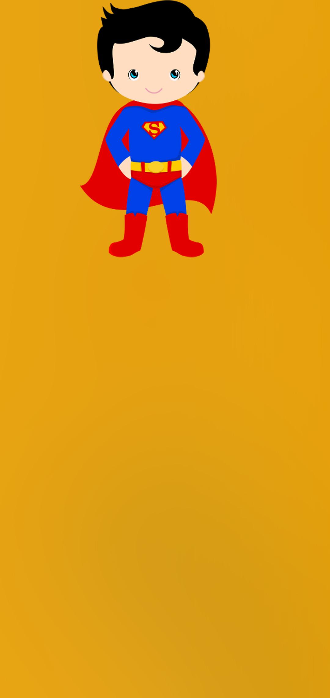 little superman wallpaper