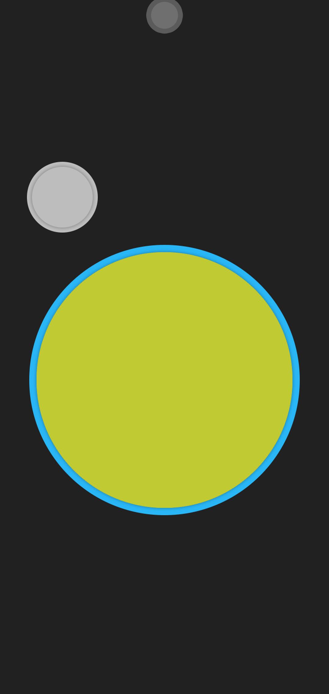 material circle green wallpaper
