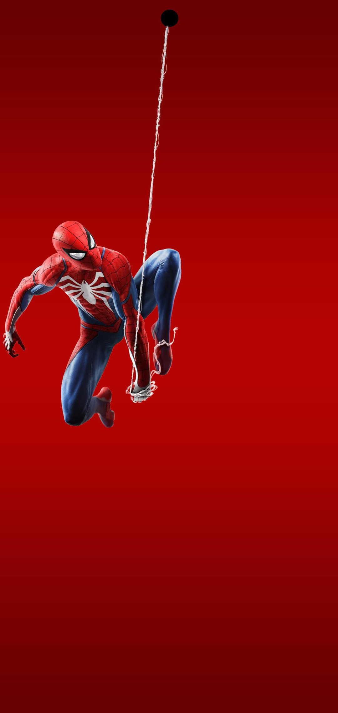 spiderman hole-punch wallpaper