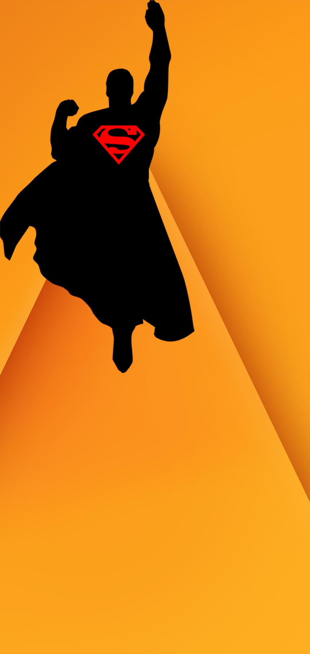superman hole-punch wallpaper
