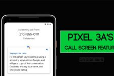 Pixel 3A Call Screen Feature