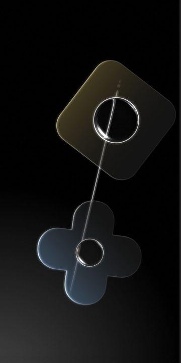 pixel 4 compass black wallpaper