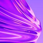 Realme Q pink liquid wallpaper