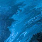 blue flow wallpaper
