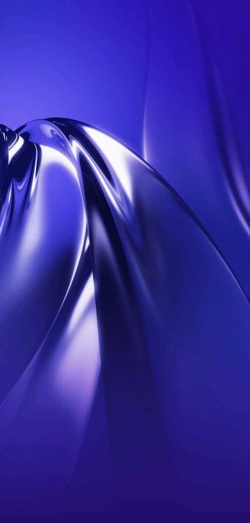 vivo nex 3 purple glow wallpaper