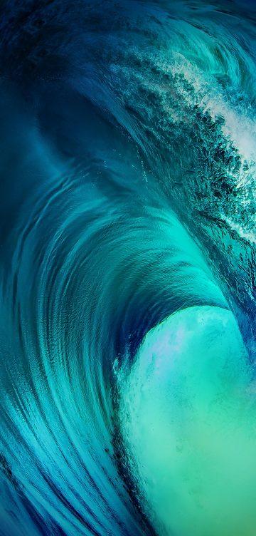 vivo nex 3 waves wallpaper