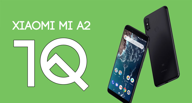mi a2 android 10