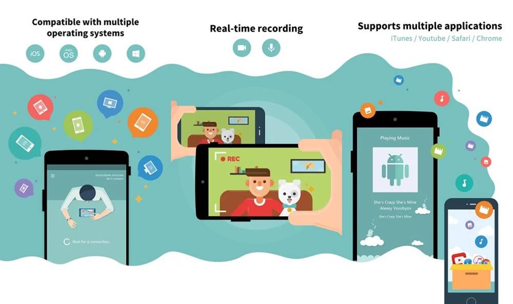 AirScreen screen sharing app