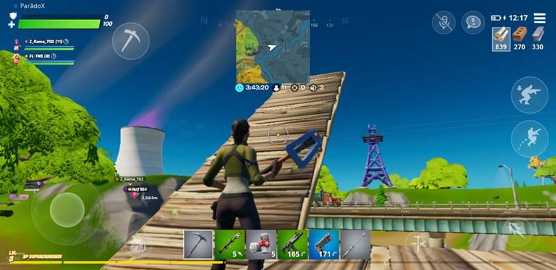 building faster fortnite