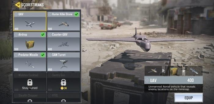call of duty scorestreaks setup