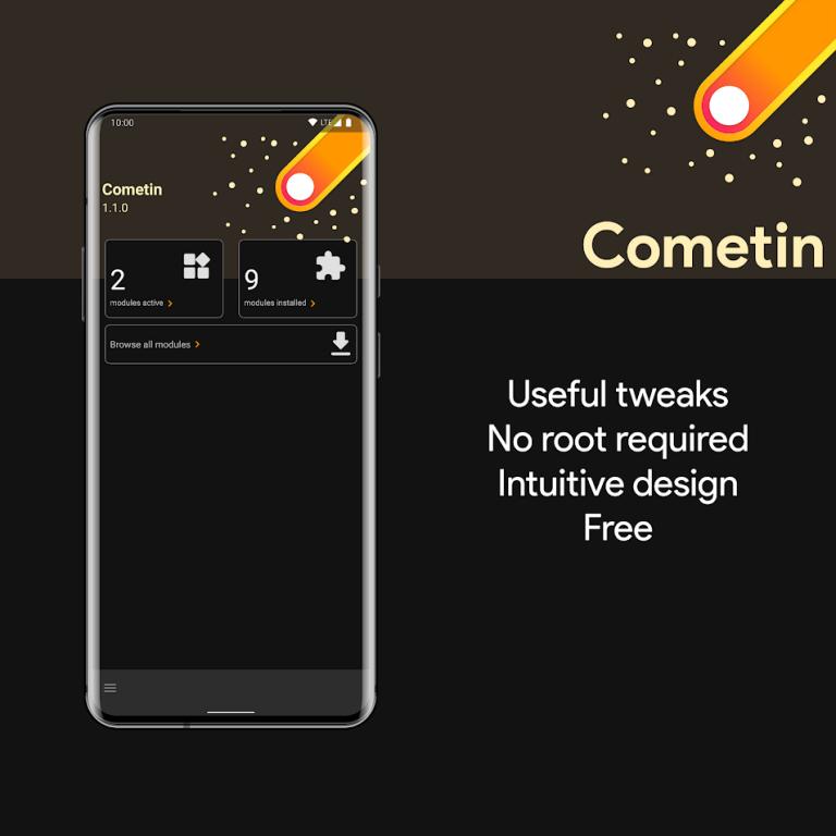 Cometin app banner