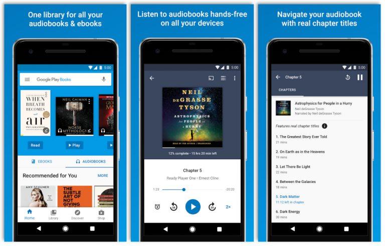 Google Play Books - Ebook Reader