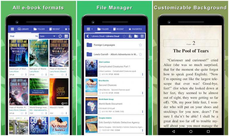 Librera - PDF and Ebook Reader
