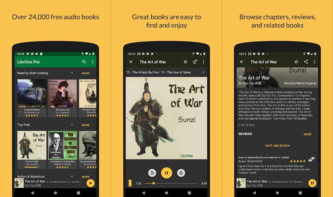 LibriVox Audiobook app