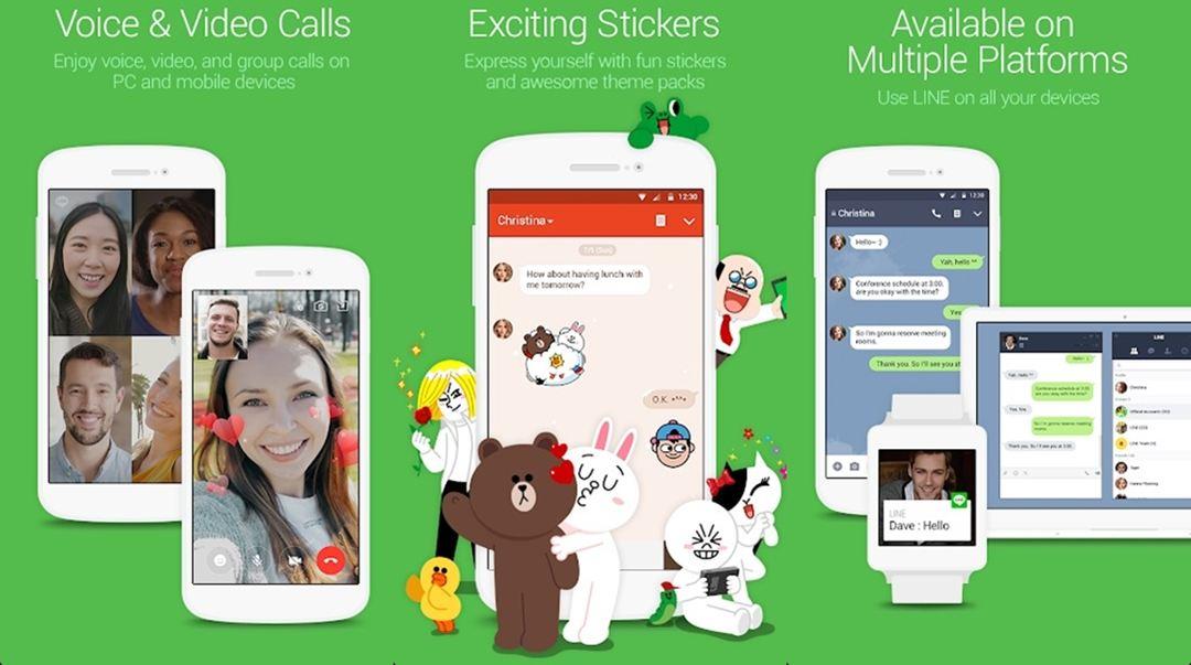 Line IM app android