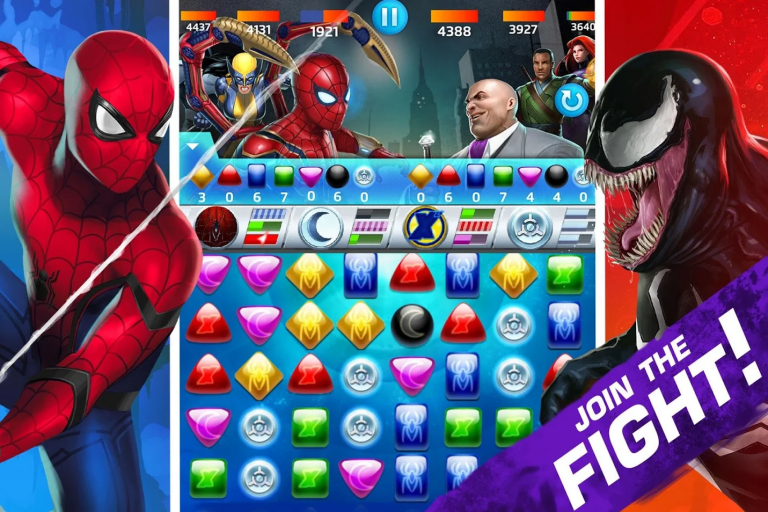 Marvel Apps and games for Android