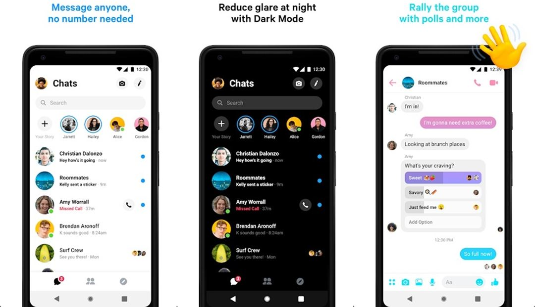 Messenger IM app