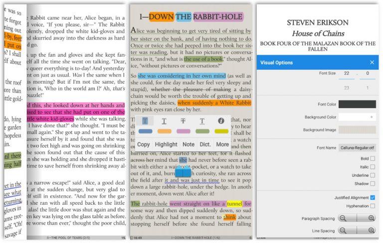 Moon+ Reader, PDF, Ebooks