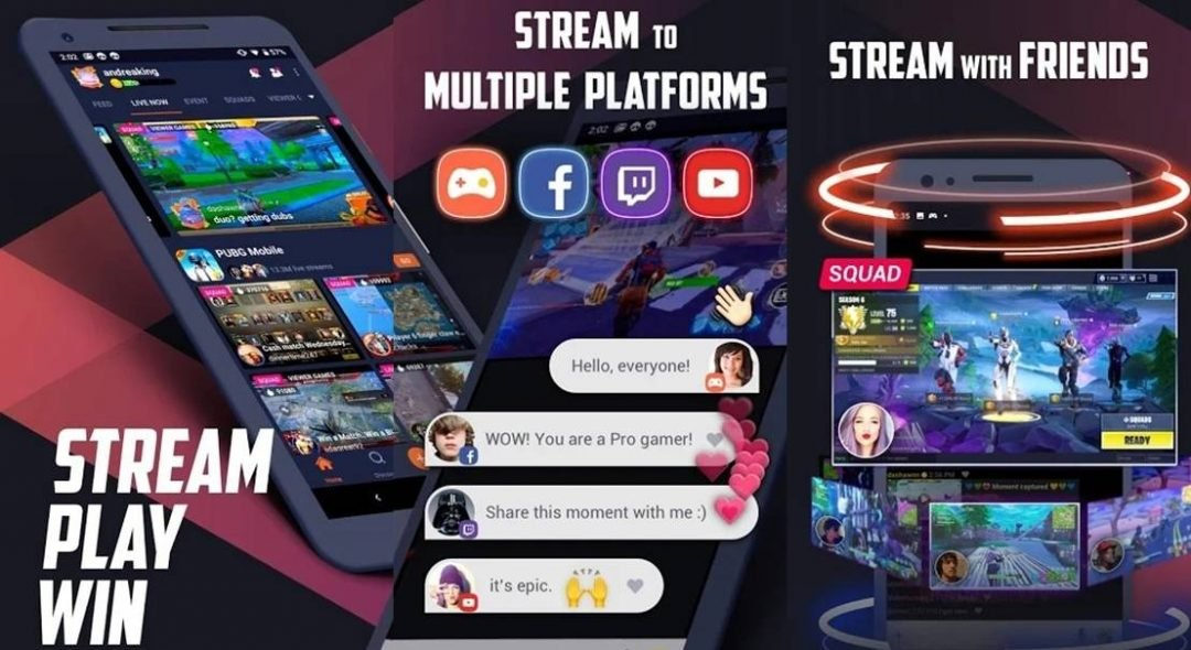 Omlet arcade live-streaming app