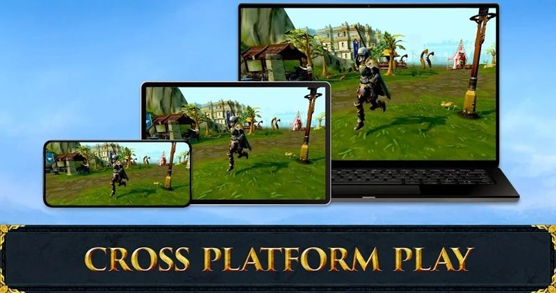 Runescape Mobile cross platform support