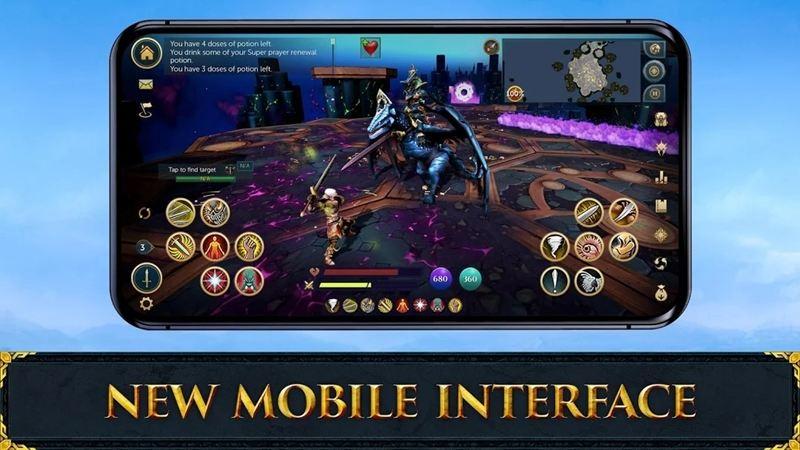 Runescape Mobile controls