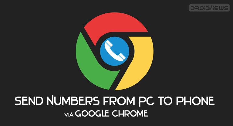 Send Phone Numbers from Chrome to Phone