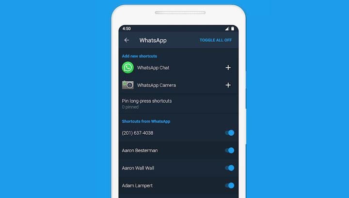 Sesame shortcut app android