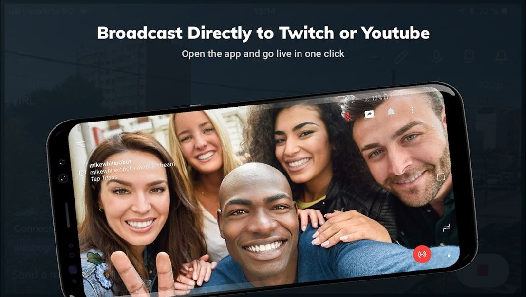 streamlabs live-streaming app