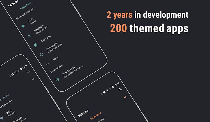 Swift dark theme for substratum