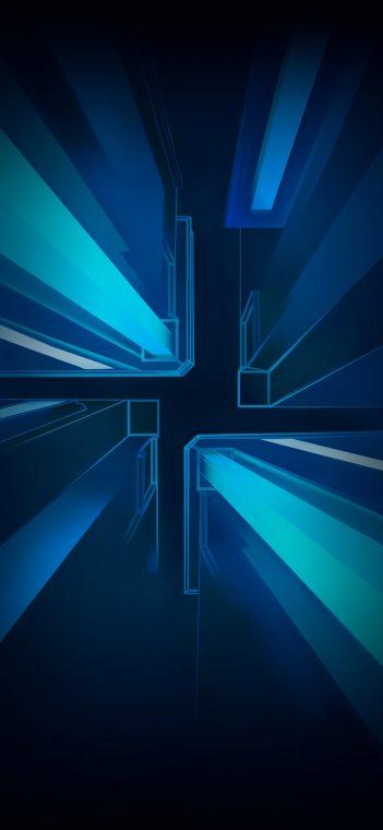 vivo iqoo neo 855 blue wallpaper