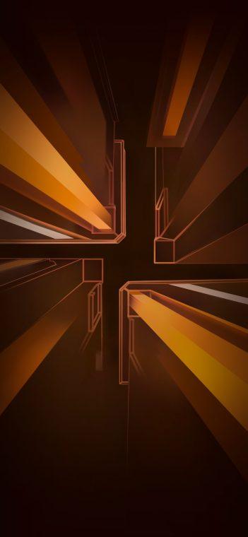 lockscreen golden wallpaper