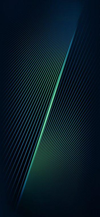 green lines shaft wallpaper