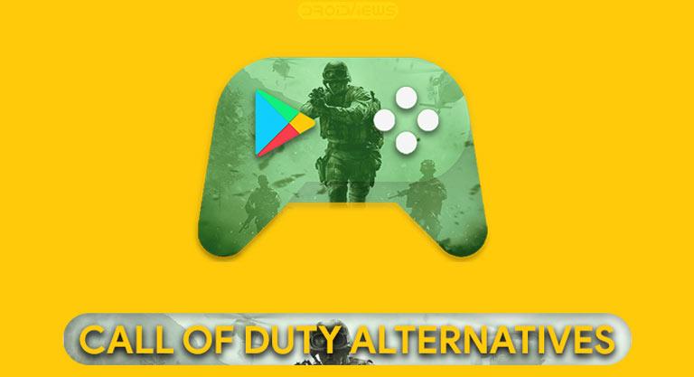 call of duty alternatives