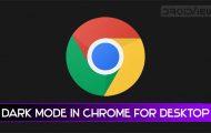 chrome desktop dark mode