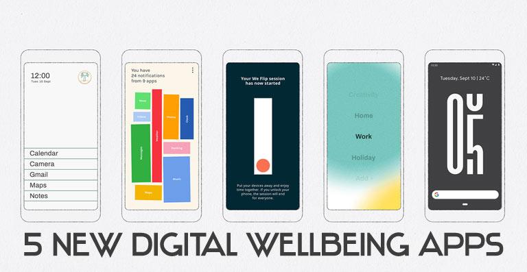 google digital wellbeing apps