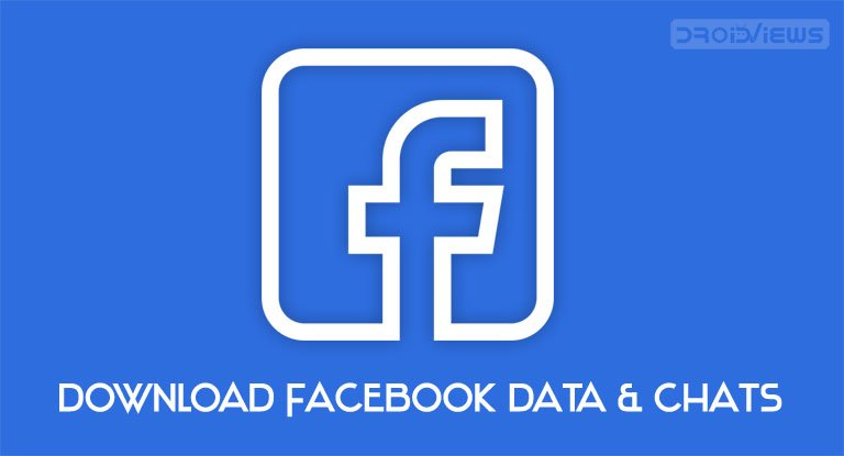 download facebook data & chats