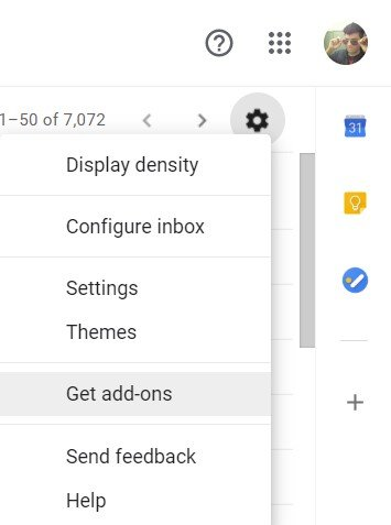 get gmail add-ons
